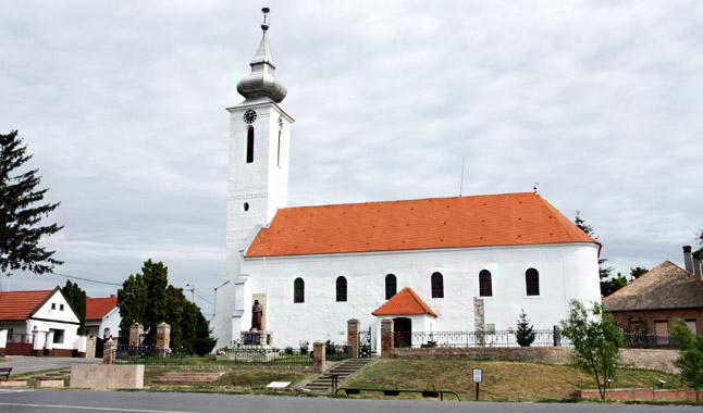 A laskói református templom
